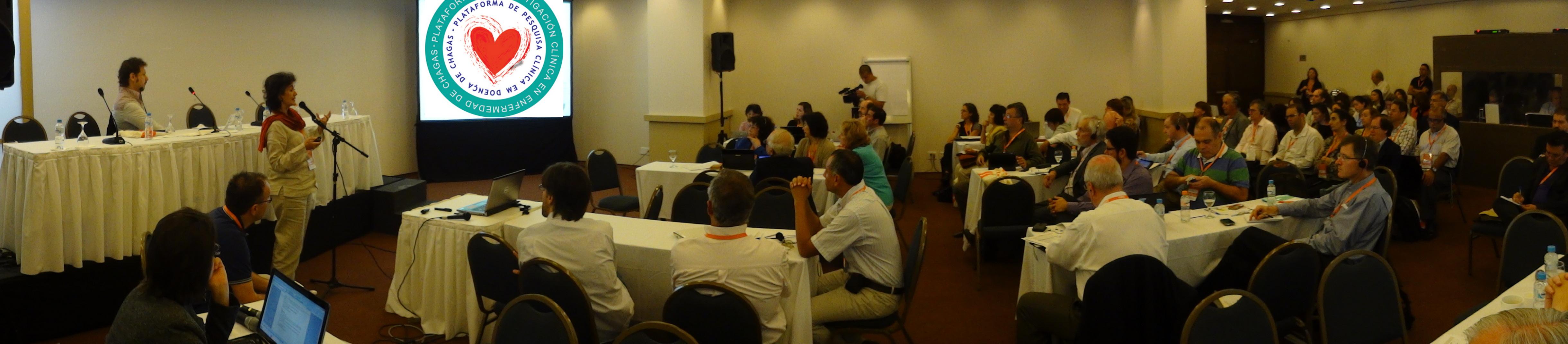 Reunião da Plataforma Chagas no Rio de Janeiro. Dez-2011